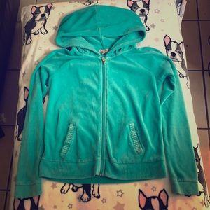 Juicy Couture aqua hoodie Pre-loved Size Medium